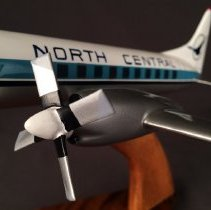 Image of North Central Convair 580, Model Airplane