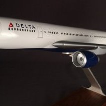 Image of Delta Airbus A330-200 Model Airplane - 2008