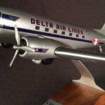 Image of Delta DC-3, NC28341, Ship 41, Model Airplane - 2002