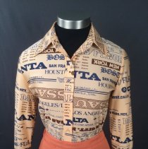 Image of Delta Agent Uniform Blouse, 1976