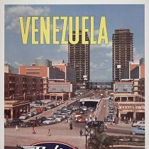 Image of Delta-C&S Venezuela Travel Poster - 1955