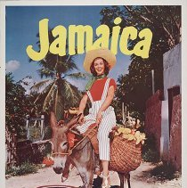 Image of Delta-C&S Jamaica Travel Poster - 1955