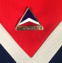 Image of Delta Agent Uniform Name Badge - 1969-1976