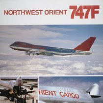 Image of Northwest Orient 747F Poster