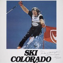 Image of North Central Ski Colorado Travel Poster - ca. 1975