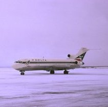 Image of Delta Boeing 727-232, Ship 454, at Kansas City - 12/31/1973
