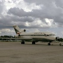 Image of Delta Boeing 727-95, Ship 434, at JAX, September 1973