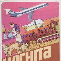 Image of Southern Airways Wichita Travel Poster - ca. 1977