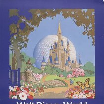 Image of Delta Walt Disney World Travel Poster - 1987