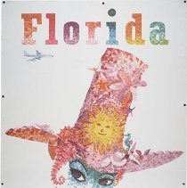 Image of Northeast Airlines Florida Travel Poster - ca. 1960-1966