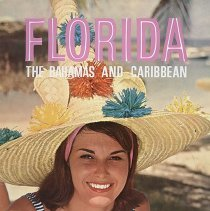 Image of Delta Florida, The Bahamas and Caribbean Travel Poster - ca. mid 1960s