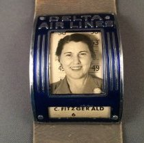 Image of Catherine FitzGerald's Delta ID Badge (Employee #6)