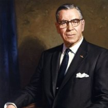 Image of C.E.Woolman, President Delta Air Line - 1964