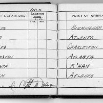 Image of Charles Dolson's Logbook No. 6 Photocopy sample