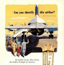 Image of Delta 1955 ad, Can You Identify This Airline?