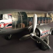 Image of Delta Douglas DC-3 Cutaway Model Airplane -