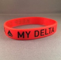 Image of Keep Delta My Delta Wristband