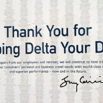 Image of Thank You for Keeping Delta Your Delta - 2007