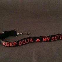 Image of Keep Delta My Delta Lanyard