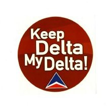 Image of Keep Delta My Delta! Sticker