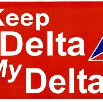 Image of Keep Delta My Delta! Rally Sign 2