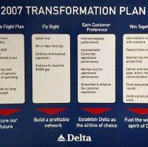 Image of Delta 2007 Transformation Plan
