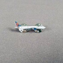 Image of Delta Launch Aircraft Lapel Pin - 04/30/2007