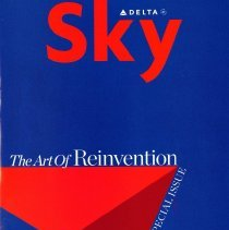 Image of Delta Sky, The Art of Reinvention: A Special Issue - 05/2007