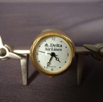 Image of Delta Prop Plane Clock - 05/03/2007