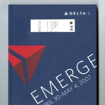Image of Delta Emerge April 30-May 4, 2007 Booklet copy 1 cover