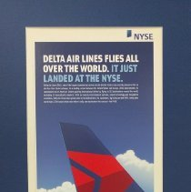 Image of Delta Air Lines Flies All Over the World. It Just Landed at the NYSE. - 05/2007