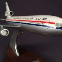 Image of McDonnell Douglas DC-10, N100C Model Airplane - ca. 1970