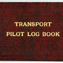 Image of Charles Dolson's Logbook No. 6 Digital Copy - 1936