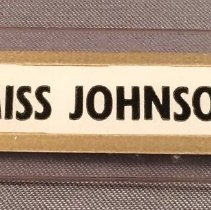 Image of Northwest Orient Stewardess Uniform Name Badge - ca. 1964-1969
