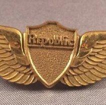 Image of Republic Airlines Flight Attendant Uniform Wings