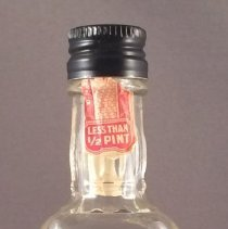 Image of Delta Jack Daniels Miniature Liquor Bottle