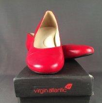 Image of Virgin Atlantic Ground Agents Low Red Shoe  - 2014