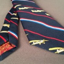 Image of Delta 50th Anniversary Commemorative Necktie - 1979