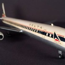 Image of Delta DC-8-51 Fanjet, N818E, Ship 818 Model Airplane -