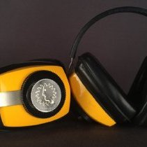 Image of National Airlines Safety Earmuff - ca. 1968-1980