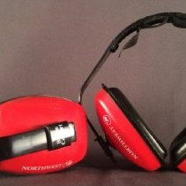 Image of Northwest Airlines Safety Earmuff