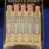 Image of C&S DC-3 Stewardess Matchbook - ca. 1940