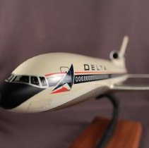 Image of Delta Lockheed L-1011 Model Airplane -