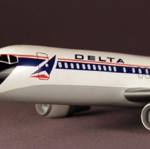 Image of Delta Airbus A320 Model Airplane