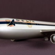 Image of Delta Airbus A300 Model Airplane -