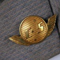 Image of C&S Stewardess Uniform Hat Badge - 1946-1953