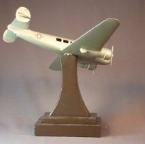 Image of Delta Lockheed 10 Electra Model Airplane
