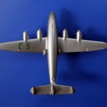Image of C&S Lockheed Constellation Souvenir Model Airplane - ca. 1950-1953