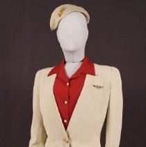 Image of Delta Air Lines Stewardess Uniform