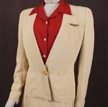 Image of Delta Stewardess Uniform Jacket - 1940-1942 Summer